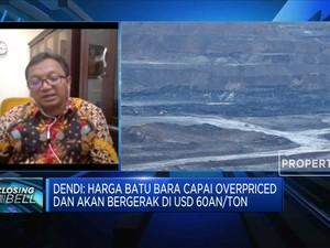 Overpriced, Harga Batu Bara Bisa Terkoreksi ke USD 70/ton