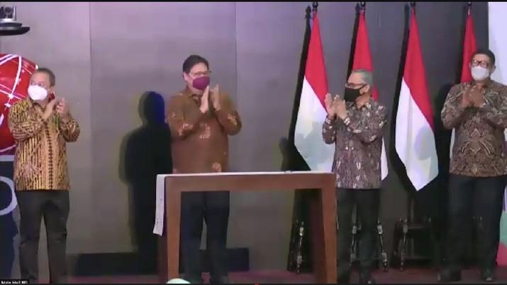 Pembukaan Perdagangan Bursa Efek Indonesia 2021 (Tangkapan Layar)
