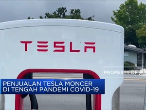 Penjualan Tesla Moncer di Kala Covid-19