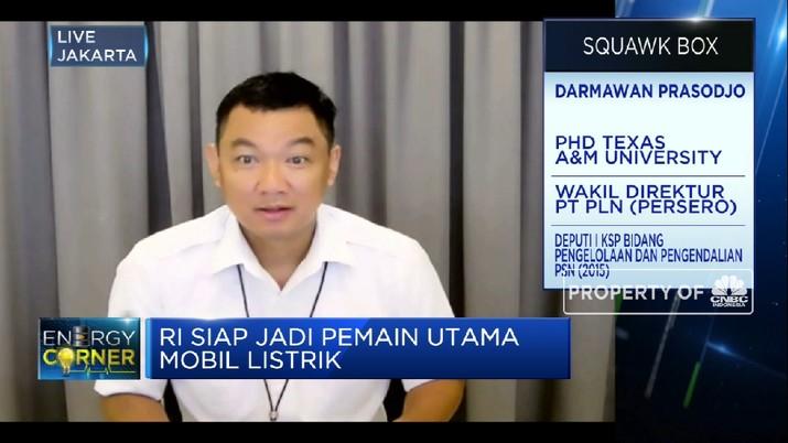 PLN Tambah 60 Stasiun Pengisian Listrik di 2021(CNBC Indonesia TV)
