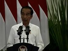 Warning Jokowi ke Bapak-bapak: Bansos Jangan untuk Beli Rokok