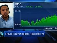 Teknikal Rebound, IHSG Awal Tahun Menguat Lebih Dari 2%