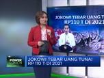 Jokowi Tebar Uang Tunai Rp 110 T di 2021