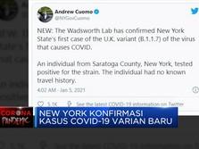 New York Konfirmasi Kasus Covid-19 Varian Baru