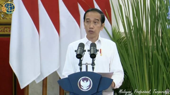 Penyerahan Sertipikat Tanah Untuk Rakyat Se-Indonesia, Istana Negara, 5 Januari 2021 (Tangakapan Layar Youtube)