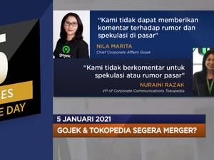 Gojek-Tokopedia Merger? Hingga MRT Jakarta Fase II Molor