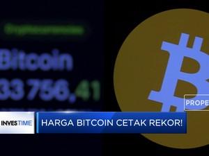 Harga Bitcoin Cetak Rekor!