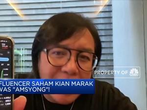 Influencer Saham Kian Marak Awas Amsyong!