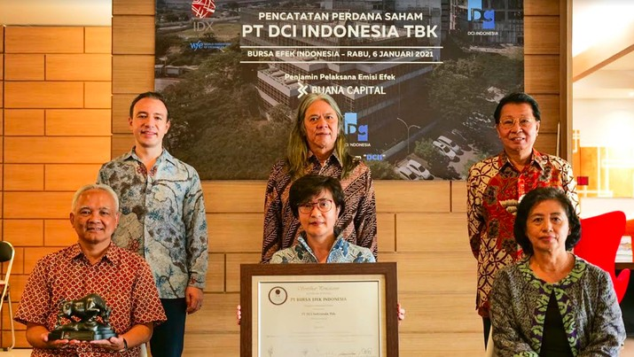 IPO PT DCI Indonesia Tbk (DCII), 6 Januari 2021/BEI