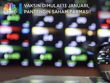 Vaksin Dimulai 13 Januari, Pantengin Saham-saham Farmasi!