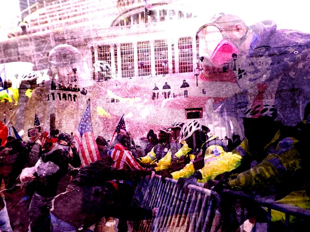 AS Chaos, Pendukung Trump Dobrak Capitol Hill