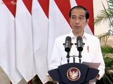 Jokowi: Kita Beruntung Tak Sampai Lockdown