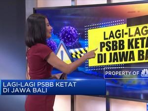 Lagi-Lagi PSBB Ketat di Jawa Bali