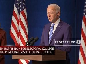 Resmi! Joe Biden Jadi Presiden AS