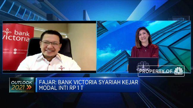 BVIC Targetkan Pertumbuhan 5%, Bank Victoria Dorong Digitalisasi