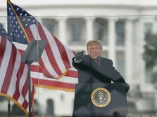 Sah! Trump Dimakzulkan DPR AS Seminggu Sebelum Ganti Presiden
