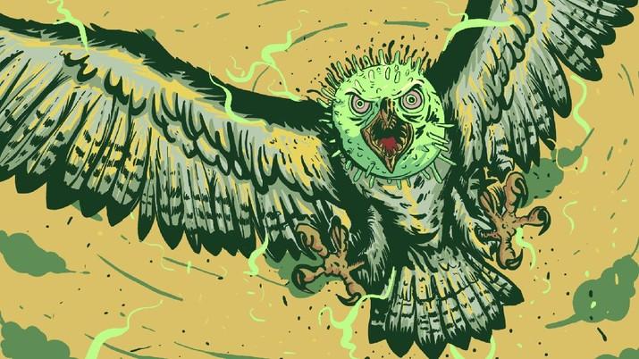 infografis, Waspada!, Wabah Flu Burung Bangkit Lagi
