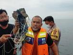 Puing Diduga Pesawat Sriwijaya Air Sudah di Kapal Basarnas