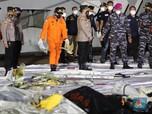 KNKT: Sriwijaya Air SJ182 Tidak Meledak Sebelum Membentur Air