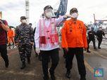 Lapor Jokowi, Menhub Sebut Titik Terang Pencarian SJ-182