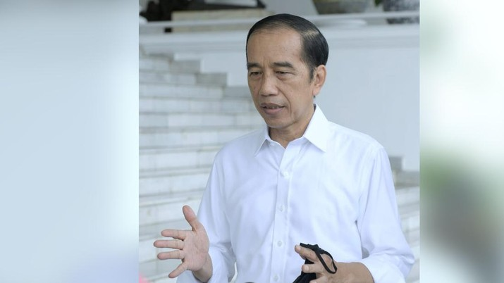 Presiden Joko Widodo (BPMI Setpres)