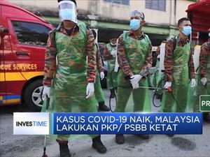 Kasus Covid-19 Naik, Malaysia Lakukan PKP/ PSBB Ketat