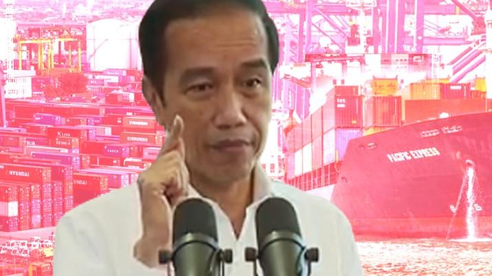 cover topik/ Jokowi soal Impor_Dalam