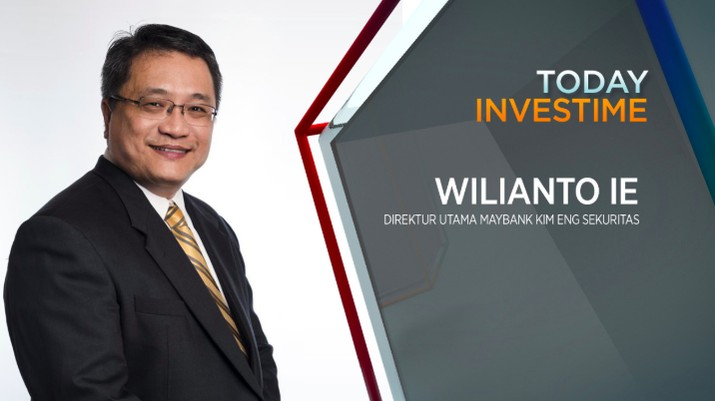Direktur Utama PT Maybank Kim Eng Sekuritas, Wilianto Ie