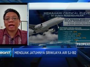 Kata Pengamat Soal Jatuhnya Pesawat Sriwijaya Air SJ-182