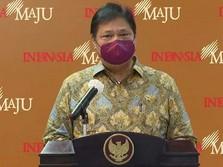 Airlangga: PDB RI 2021 Diprediksi Tembus 5,5%