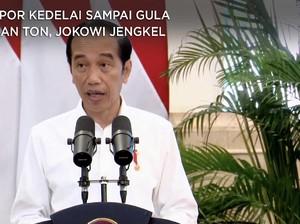 RI Impor Kedelai Sampai Gula Jutaan Ton, Jokowi Murka!