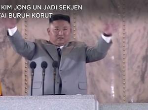 Sah! Kim Jong Un Jadi Sekjen Partai Buruh Korut