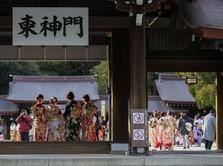 Kacau! Ekonomi Jepang Q1 Diramal Kontraksi 5% Karena Covid-19