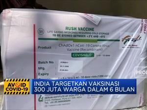 India Mulai Distribusikan Vaksin Covid-19