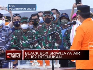 KNKT Terima Flight Data Recorder Pesawat Sriwijaya Air SJ 182