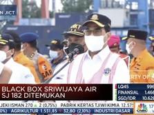 Menhub: FDR Blackbox Sriwijaya Air SJ 182 Sudah Ditemukan