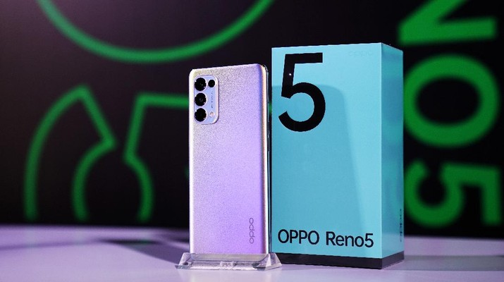 Oppo Reno 5 (Dok. Oppo Indonesia)