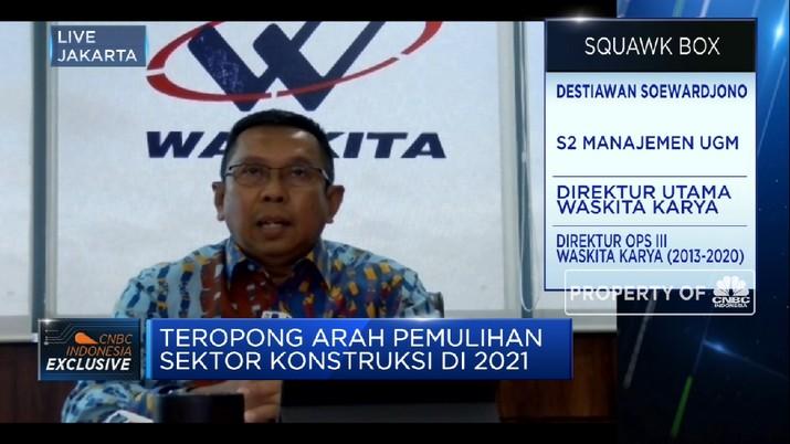 Produktivitas Turun Kala Pandemi, WSKT Siapkan Strategi Baru di 2021 (CNBC Indonesia TV)
