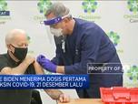 Joe Biden Terima Dosis Kedua Vaksin Covid-19 Buatan Pfizer