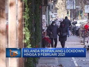 Belanda Perpanjang Lockdown Hingga 9 Februari 2021