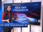 Kick Off Vaksinasi RI