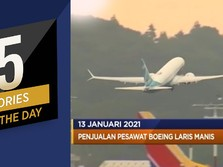 Impor Kedelai RI Hingga Penjualan Boeing Laris Manis