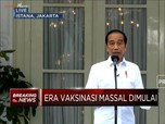 Jokowi: Setelah Divaksin Tetap Disiplin Protokol Kesehatan!