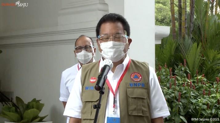Jubir Satgas COVID-19 Prof Wiku Adisasmito  (Tangkapan Layar Youtube Sekretariat Presiden)