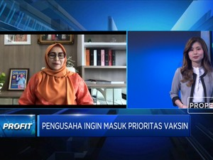Kadin DKI Harap Dunia Usaha Masuk Prioritas Penerima Vaksin