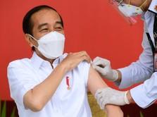 Penjelasan Lengkap Jokowi Usai Divaksinasi Covid-19