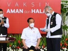 Pengakuan Jokowi Usai Vaksin: Setelah 2 Jam Pegal Dikit
