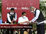 Sah! Presiden Jokowi Disuntik Vaksin Covid-19