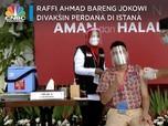 Bareng Presiden Jokowi, Raffi Ahmad Divaksin Covid-19