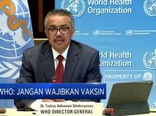Jangan Ngadi-Ngadi, WHO: Vaksin Tak Bisa Akhiri Pandemi!